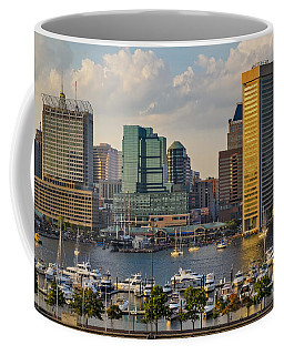 Federal Hill View To The Baltimore Skyline Coffee Mug
