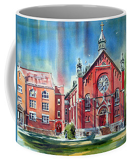 Coffee Mug featuring the painting Feed The Birds IIi by Kip DeVore