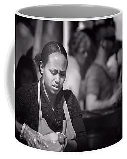 Coffee Mug featuring the photograph Feeding The Multitudes by Wallaroo Images