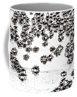 Coffee Mug featuring the photograph Feeling Crabby by Wade Brooks