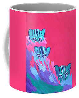 Feline Fishers Coffee Mug