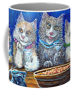 Felines After Five Coffee Mug