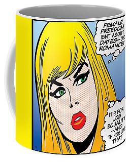 Female Freedom Coffee Mug