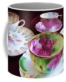 Feminine High Society Ladies Tea Party Coffee Mug