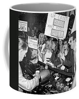 Feminists Protest  Brown's Bar Coffee Mug