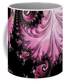 Femme Fatale Fractal Coffee Mug by Susan Maxwell Schmidt