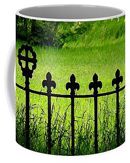 Fence And Cross Coffee Mug