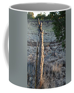 Coffee Mug featuring the photograph Fence Post by David S Reynolds