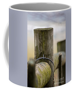 Fence Post Coffee Mug by Kerri Farley
