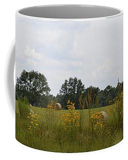 Fence Row Wild Flowers Coffee Mug
