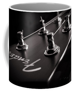 Coffee Mug featuring the photograph Fender Acoustic I by Bob Orsillo