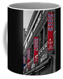 Fenway Boston Red Sox Champions Banners Coffee Mug