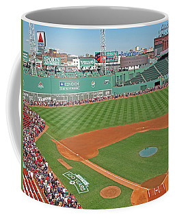 Coffee Mug featuring the photograph Fenway One Hundred Years by Barbara McDevitt