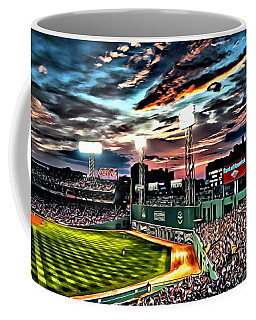 Fenway Park At Sunset Coffee Mug