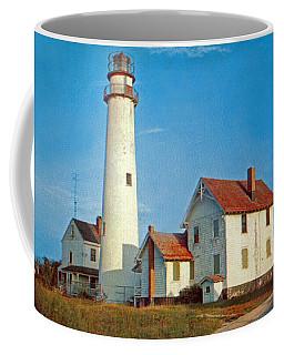 Fenwick Island Lighthouse 1950 Coffee Mug