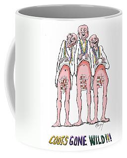 Feral Coots Gone Beading  Coffee Mug