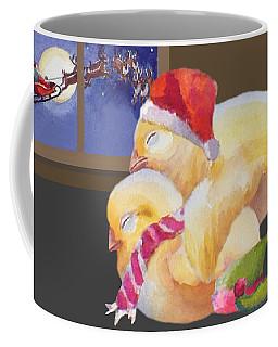 Baby Chicks Night Before Christmas Coffee Mug