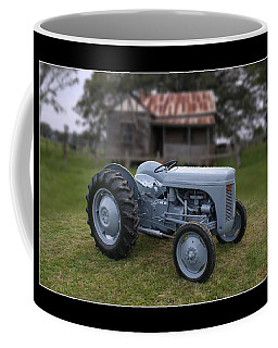 Coffee Mug featuring the photograph Fergie Tractor by Keith Hawley