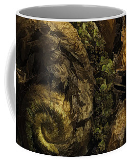 Fern Headdress Coffee Mug by Jean OKeeffe Macro Abundance Art