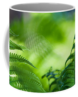 Fern Leaves. Healing Art Coffee Mug