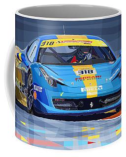 2012 Ferrari 458 Challenge Team Ukraine 2012 Coffee Mug