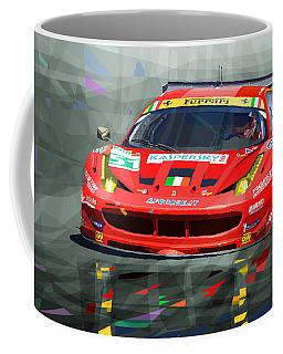2012 Ferrari 458 Gtc Af Corse Coffee Mug