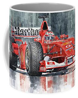 2002 Ferrari Marlboro F 2002 Ferrari 051 Rubens Borrichello Coffee Mug