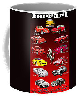 Ferrari Sports Car Poster  Coffee Mug