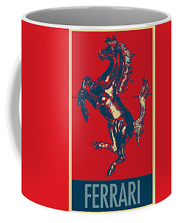 Ferrari Stallion In Hope Coffee Mug