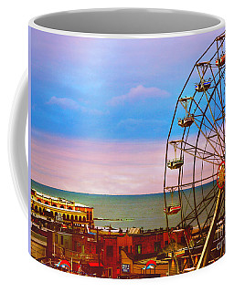 Ocean City New Jersey Ferris Wheel And Music Pier Coffee Mug
