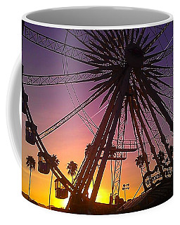 Coffee Mug featuring the photograph Ferris Wheel by Chris Tarpening