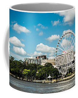 Ferris Wheel On The Brisbane River Coffee Mug