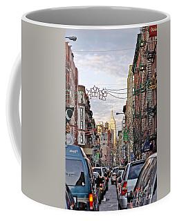 Festive Nyc Coffee Mug