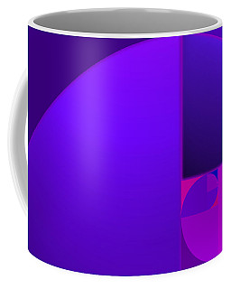 Fibonacci Blue Coffee Mug