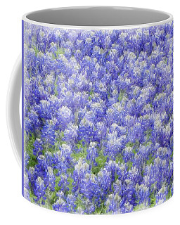 Field Of Bluebonnets Coffee Mug