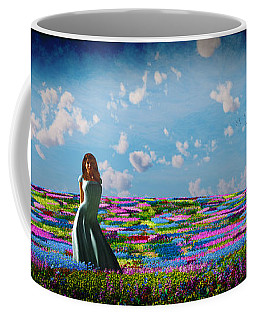 Field Of Flowers... Coffee Mug