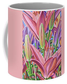 Field Of Lilies Coffee Mug