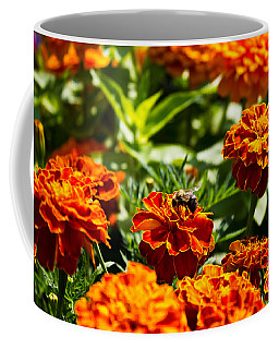 Field Of Marigolds Coffee Mug