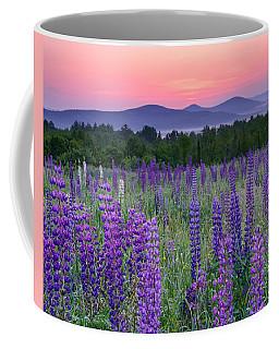 Field Of Purple Coffee Mug