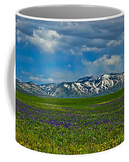 Field Of Wildflowers Coffee Mug