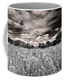Fields Of Gold And Clouds Coffee Mug