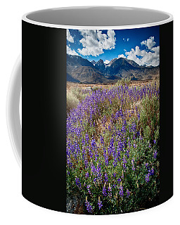 Fields Of Lupine Coffee Mug