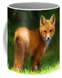 Fiery Fox Coffee Mug