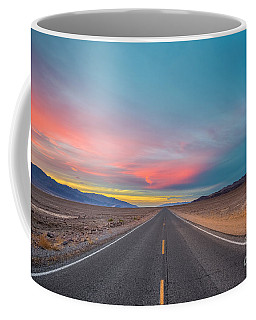 Fiery Road Though The Valley Of Death Coffee Mug