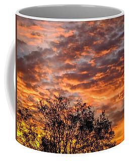 Fiery Sunrise Over County Clare Coffee Mug