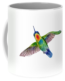 Fiery-throated Hummingbird Coffee Mug