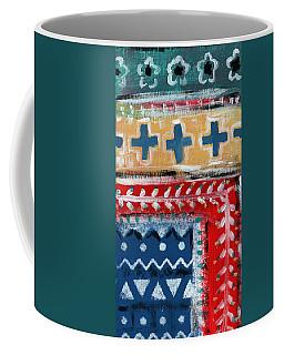 Fiesta 3- Colorful Pattern Painting Coffee Mug