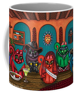 Fiesta Cats II Coffee Mug