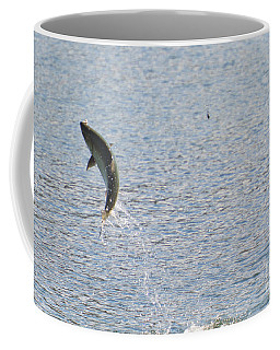 Fighting Chinook Salmon Coffee Mug