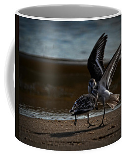 Fighting Sandpipers Coffee Mug